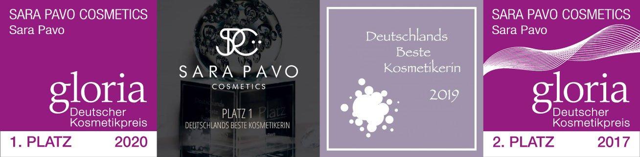 Auszeichnungen Sara Pavo Kosmetikinstut